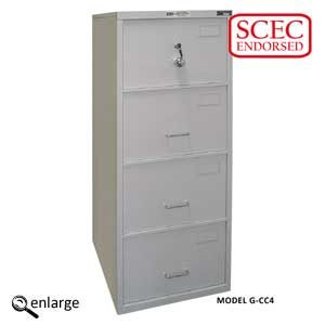 CMI Class C Filing Cabinet - 2 Drawer