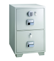 LockTech Fire Resistant Filing Cabinet 680 2 Drawer
