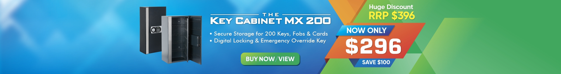 Key Cabinet MX 200 Sale - Save $100