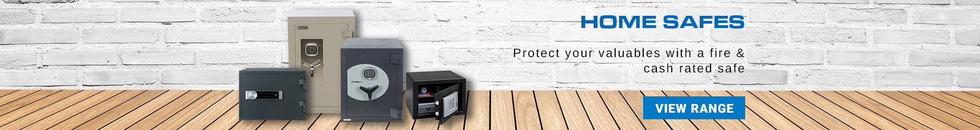 View our range of home safes